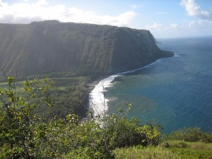 Waipio Valley Big Island Hawaii coast
