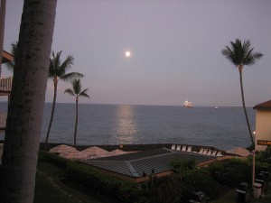 Hawaii Big Island Moonrise