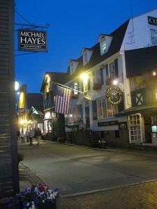 Colonial Buildings in Newport