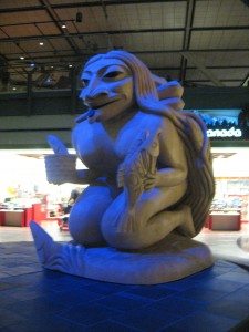 Vancouver Airport (YVR) is chock full of regional art.